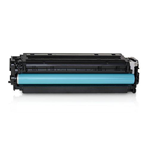 Kineco Toner kompatibel mit HP CC530A Color LaserJet CP 2000 2020 Series 2025 X 2024 2026 2027 DN N CM 2300 Series 2720 2320 FXI CB CBB CI EB EBB EI N NF WB WBB WI MFP 2323 -304A - Schwarz 3.500 Seiten