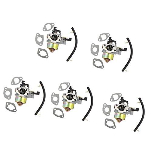 Baoblaze 2 Jeu Carburateur Pièces Tondeuses pour Honda Gxv140 Gxv160 Hr194 Hr214 Hr215