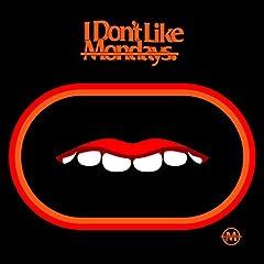 I Don't Like Mondays.「愛言葉」の歌詞を収録したCDジャケット画像