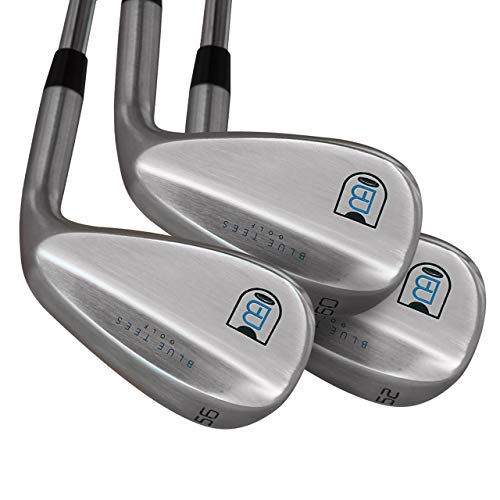 Blue Tees Golf | 52, 56, 60 Wedge Set | Premium Golf Wedges | Lob Wedge | Sand Wedge | Gap Wedge | Golf Clubs