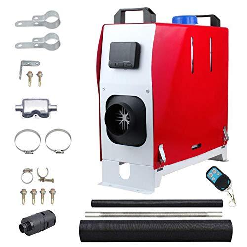 Calentador de aire Bowlder de 12 V y 8 kW para estacionamiento, diésel, con mando a distancia LCD, interruptor para RV, barcos, camiones, caravanas, remolques