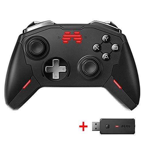 DCDZ BMC Somatosensoriel Gaming Manette sans Fil for Nintendo Switch/PC, 5 Niveaux Vibrations Mécaniques Gamepad Macro Définition Contrôleur de Jeu - 10M À Distance, Ergonomie, Low Latency