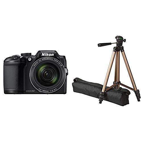 Nikon Coolpix B500 Kamera schwarz & AmazonBasics 127cm (50