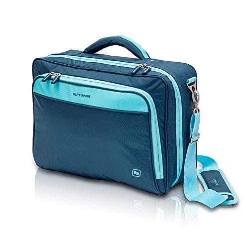 Elite Bags Practi's - Maletín sanitario de asistencia domiciliaria, Azul, 40 x 30 x 12 cm
