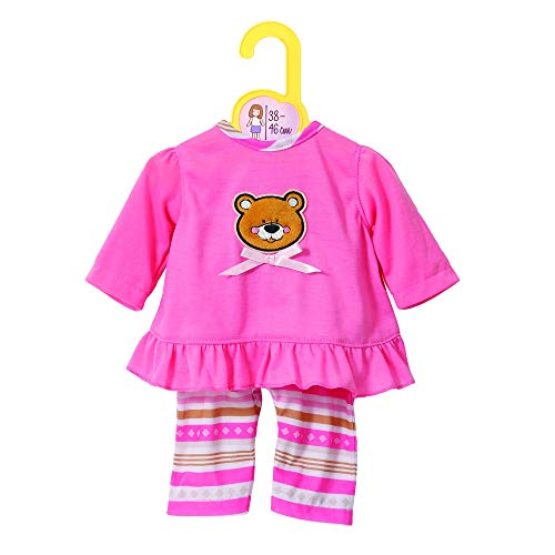 Zapf Creation 870075 Dolly Moda Pyjamas, Puppenkleidung 39-46 cm