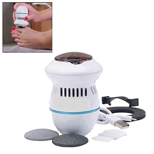 BESTCZ Electric Vacuum Adsorption Foot Grinder Electric Foot File Vacuum Callus Remover Foot Files Clean Tools Personal care for Adult