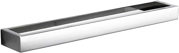 Homovater Handdoekstang, handdoekhouder zonder boren, 60 cm, roestvrijstalen gepatenteerde lijm + zelfklevende transparant...