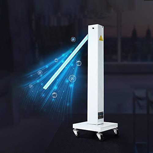 KHDJ UV-Sterilisationslampe Integrierte UV-Entkeimungslampe Mit Ozon-Quarzrohr-Desinfektion Tragbarer UV LED-Desinfektionsmittel Für Auto-Haushalts-Kühlschrank-Toiletten-Haustierbereich,No Ozone,100W