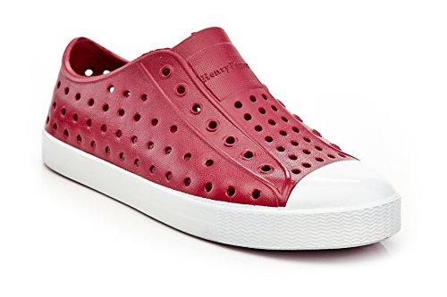 Kid's Slip on Sneaker by Henry Ferrera Red