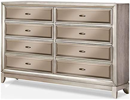 Grey High Gloss 8 Drawer Chest of Drawers.ALL GLOSS PANELS.Premium Collection