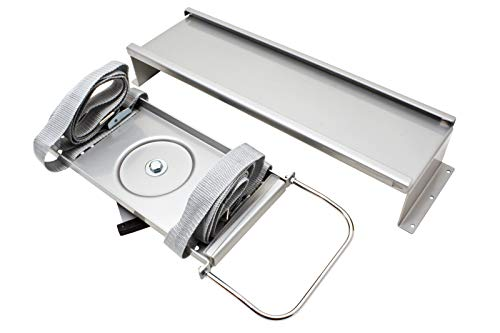 ROLINE PC Halterung Universal | Stabil und flexibel | Computer Halter in silber | Bis 20 Kg
