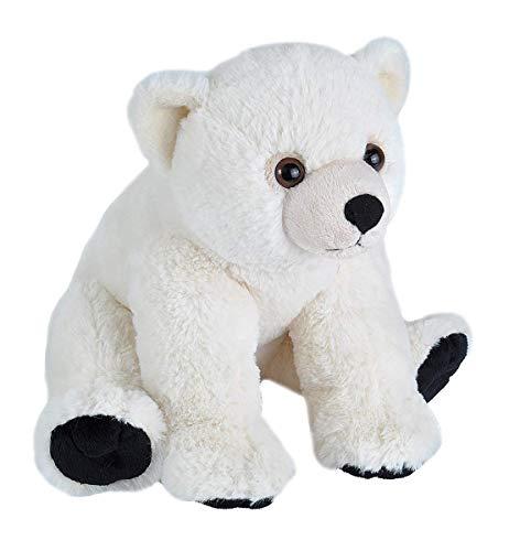 Wild Republic Peluche Oso Polar Bebé Cuddlekins, 30cm