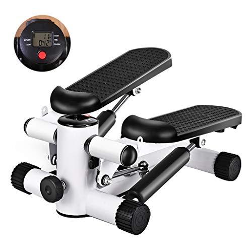 LPWCA Step Fitnessapparaat, mini hometrainer, Bergsteiger trainingsapparaat met intelligent display, geruisloos en antislip, geschikt voor het trainen van benen en buik