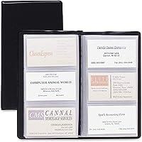 "Cardinal - Card Holder,Business,72-Card Cap,7-3/4""x4-3/8"",Vinyl,Black, Sold as 1 Each, CRD 751610 by Cardinal [並行輸入品]"