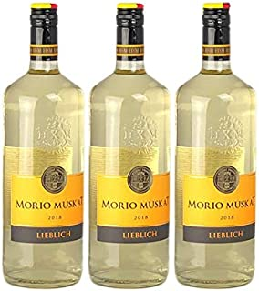 Weißwein Pfalz Morio-Muskat lieblich 3 x 1,0 l