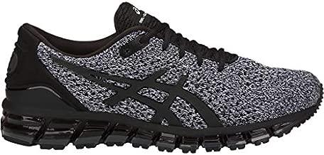 ASICS Men's Gel-Quantum 360 Knit Running Shoes, 8M, Black/White/Black