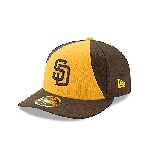 New Era San Diego Padres On-Field Brown Low Profile 59FIFTY Fitted Hat/Cap 7 1/2