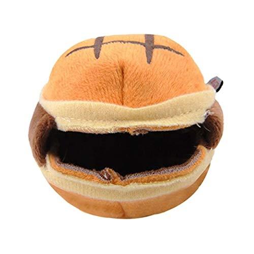 qwert Invierno cálido pequeño Animal Mascota hámster Hamburguesa casa Cama Ardilla Erizo Chinchilla Jaula Nido hámster Accesorios, A