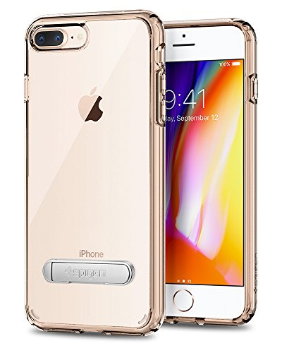 Spigen Cover iPhone 8 Plus, Cover iPhone 7 Plus Ultra Hybrid S Progettato per iPhone 8 Plus / 7 Plus Cover Custodia - Crystal Clear