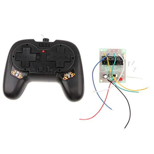 perfeclan 2.4GHz RC Car Controller Transmisor De Control Remoto De Radio Digital con Receptor De Placa De Circuito Set para RC Crawler Car RC & Robot DIY S