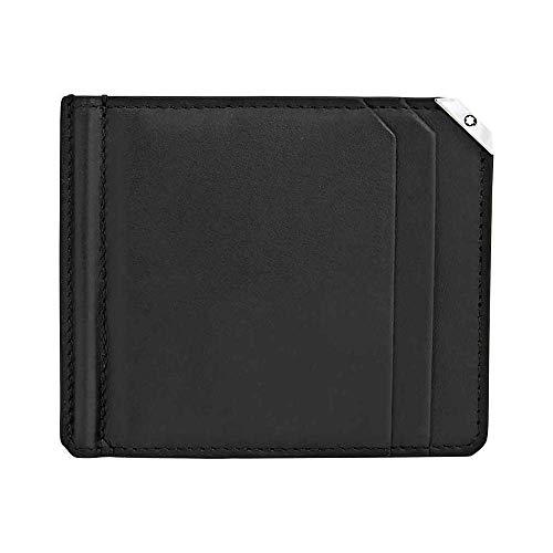 MB Urban Spirit Wallet 6cc money clip Bk 6 ranuras para tarjetas de crédito Diseño elegante y cómodo de llevar Todos nuestros productos están identificados con un emblema Montblanc Tamaño: 15 x 15 x 1