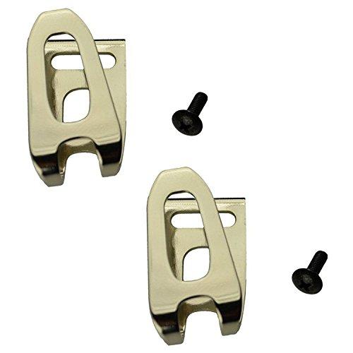 Makita 346449-3 und 251314-2 (2 Stück) Gürtelhaken für schnurlose Werkzeuge