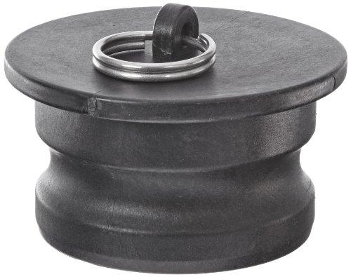 Banjo 300PL Polypropylene Cam & Groove Fitting, Dust Plug, 3 Male Adapter