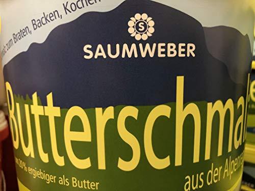 Saumweber Butterschmalz 5 Kg Eimer