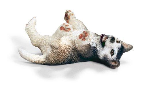 Schleich 16374 - Figura/ Miniatura Granja, Husky Cachorro, la Mentira