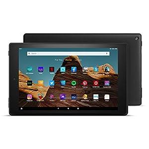 Fire HD 10 Tablet (10.1″ 1080p full HD display, 32 GB) – Black (2019 Release)