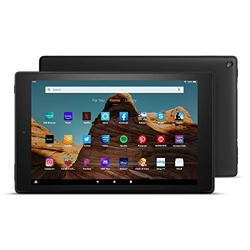 Fire HD 10 Tablet (10.1″ 1080p full HD display)