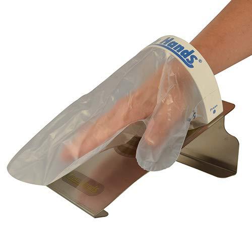 1 Clean Hands Base Kit Edelstahl 11,5 cm x 12,7 cm x 22 cm silber