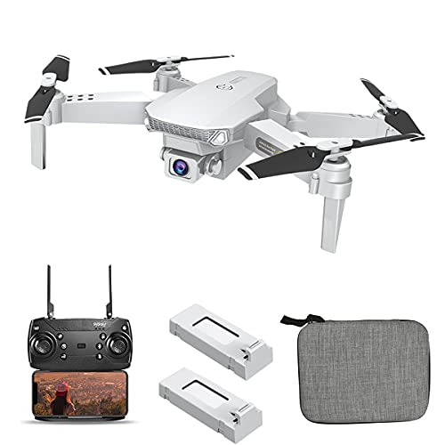 OBEST Drone Caméra 4k,DroneProfessionnel Double Caméra,Quadcopter FPV WiFi,Positionnement Du Flux Optique,Contrôle Gestuel,Retournement à 360 Degrés,Adapté Aux Débutants Et Aux Adultes