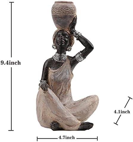 African woman figurine _image4