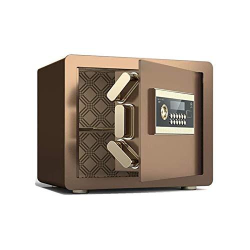 XHMCDZ Caja de Seguridad Digital-electrónica Caja Fuerte de Acero, Claves de protección contra Escritura de anulación Manual Dinero, Joyas, pasaportes de residencial, Comercial o de Viaje