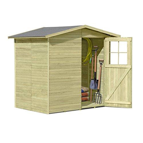 Gartenpirat Gerätehaus aus Holz Modell...