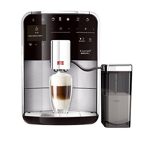 Melitta Caffeo Barista TS RVS - Cafetera (Independiente, Totalmente Automática, Espresso Machine, Acero Inoxidable, TFT, Café, Café Expreso, Latte Macchiato)