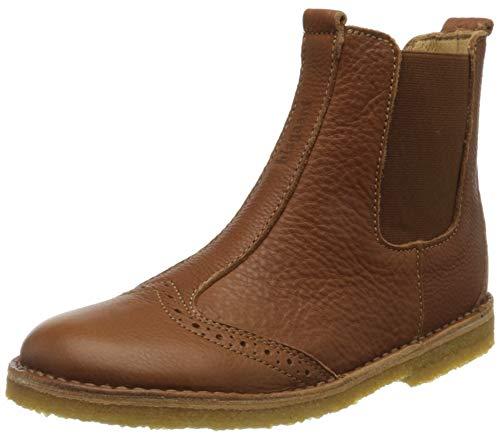 Bisgaard Unisex-Kinder Nori Chelsea Boots, Braun (Cognac 500), 29 EU