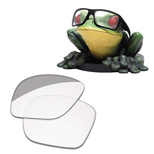 Acefrog Lenti di ricambio polarizzate rivestite AR spessore 1,4 mm per occhiali da sole Oakley Double Edge OO9380 Hd Clear - Spessore 1,8 mm Taglia unica
