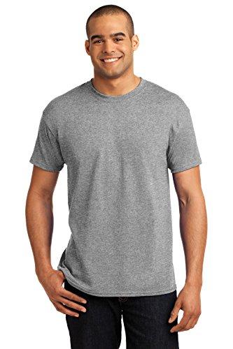 Hanes ComfortBlend® EcoSmart® Crewneck Men's T-Shirt L Grey