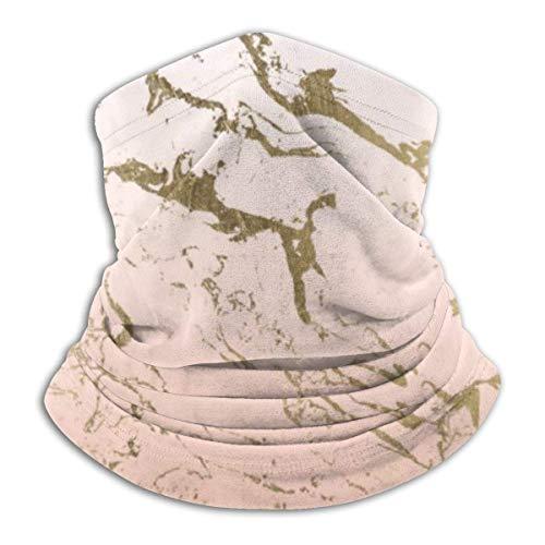 Funda para la cara unisex de mármol dorado degradado, resistente al viento, pasamontañas, pasamontañas, transpirable, resistente al viento, para acampar al aire libre, motocicleta y correr
