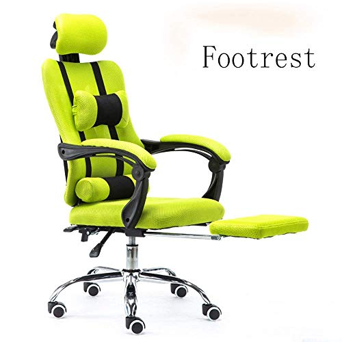 YLCJ Reclining Computer Chair Home Office Chair Conference Gaming Game Lift Lunch Break Student Staff Chair Swivel Chair-Four Colors Optional (Color : B1 Size : B)