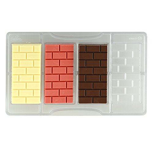Decora 0050127 Molde Chocolate Tableta DE Ladrillos