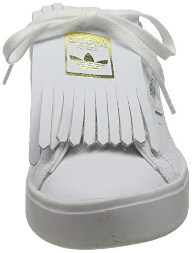 adidas Sleek W, Zapatillas Deportivas Mujer, FTWR White Core Black Crystal White, 37 1/3 EU