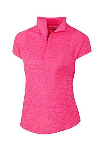 Cutter & Buck Women's CB Drytec Cap Sleeve Charli Mock, Blast, Medium