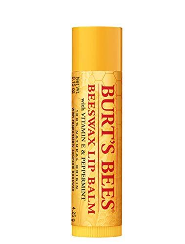 Burt's Bees Beeswax Lip Balm Tube .15 oz (Pack of 12)