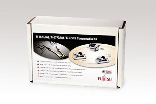 Fujitsu CON-3576-012A - Drucker-/Scanner-Ersatzteile (Verbrauchsmaterialienset, Scanner, Fujitsu, fi-6670, fi-6750S, fi-6770, fi-6670A, fi-6770A, CON-3576-500K, Mehrfarbig)
