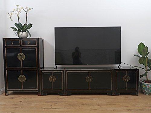 TV Element Chinesisches Sideboard Fernsehkombination Schrankwand Wohnwand MassivholzTV Element Chinesisches Sideboard Fernsehkombination Schrankwand Wohnwand Massivholz 275cm T2