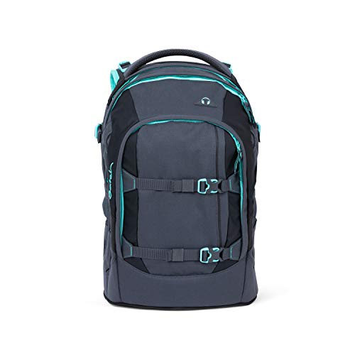 SATCH Mint Phantom Kinder-Rucksack, 45 cm, 30 Liter, Mint Grey