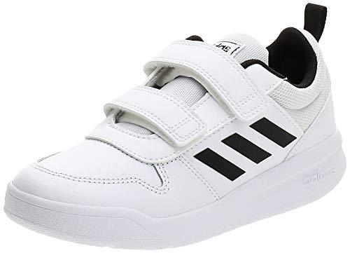 Adidas TENSAUR C, Zapatillas de Running Unisex niño, Blanco (Ftwbla/Negbás/Ftwbla 000), 30 EU